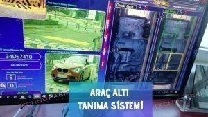 Araç altı tanıma sistemi