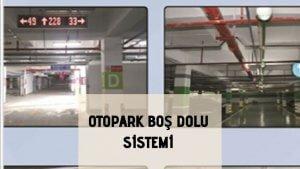 Otopark boş dolu sistemi