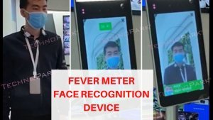 Fever Meter Face Recognition Device